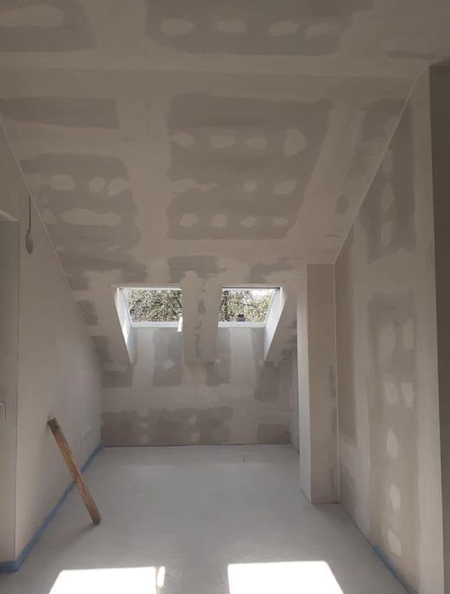 Trockeenbau Dachboden